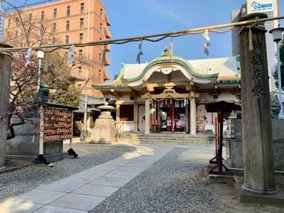 綱敷天神社の本殿