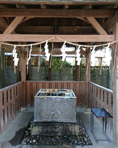 春日部八幡神社の手水