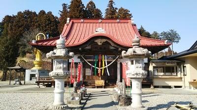 栃木県金乗院の本殿