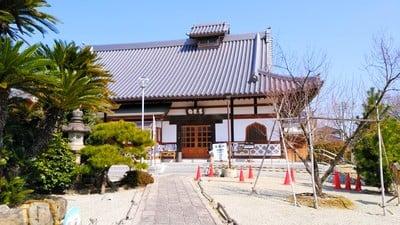 愛知県清涼山 曹源寺の本殿