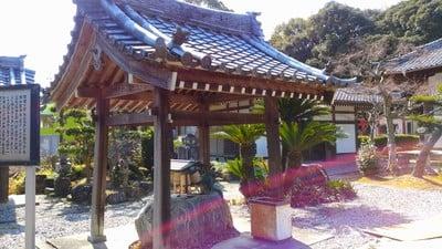 平野山 聖應寺の手水