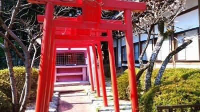 平野山 聖應寺の鳥居
