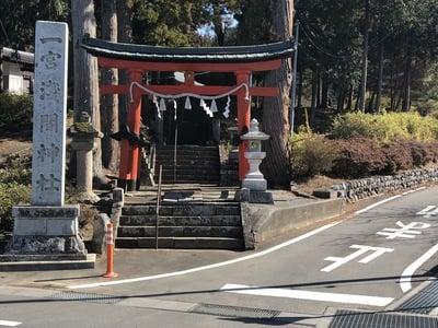 一宮浅間神社の鳥居