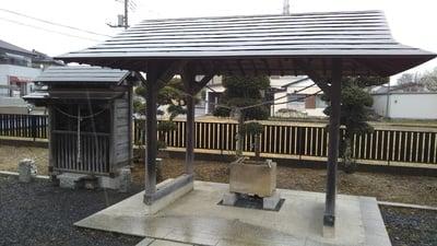下河原稲荷神社の手水