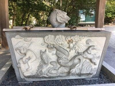 天満神社の手水