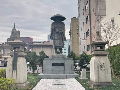 築地本願寺(本願寺築地別院)(東京都築地駅) - 像の写真