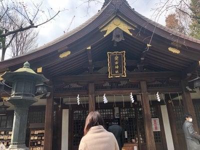 東京都愛宕神社の本殿