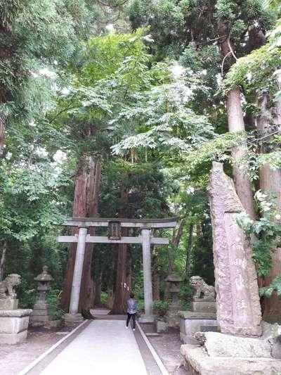 十和田神社の鳥居