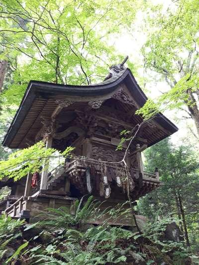 青森県十和田神社の本殿