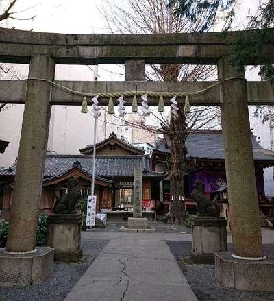 東京都日枝神社日本橋摂社の本殿