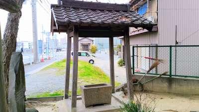 八坂瓊神社(王塚古墳跡)の手水