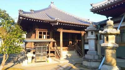 愛知県海雲山 普門寺の本殿