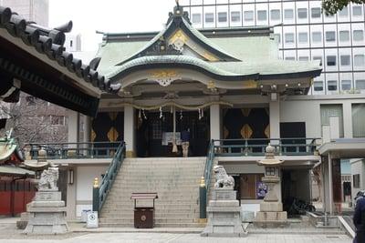 難波神社の本殿