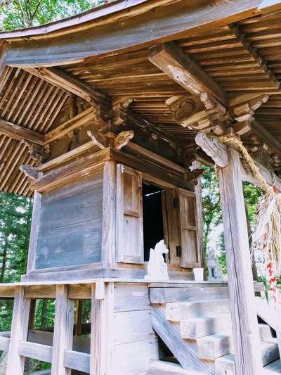 岩手県八幡神社の写真