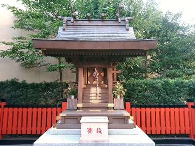 稲荷大明神(大阪府梅田(大阪市営)駅) - 本殿・本堂の写真
