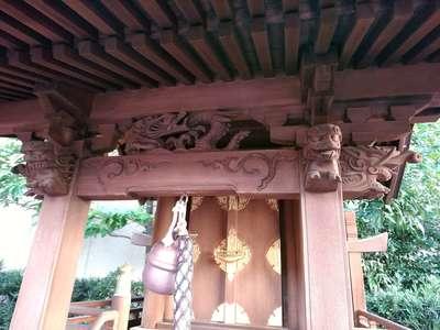 稲荷大明神(大阪府梅田(大阪市営)駅) - 芸術の写真