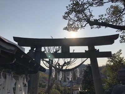 神奈川県御嶽神社の本殿