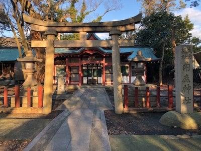 福井県氣比神宮の鳥居