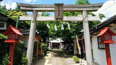 埼玉県氷川八幡神社の鳥居