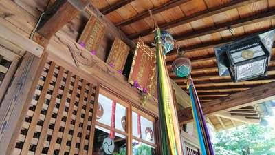 埼玉県氷川八幡神社の本殿