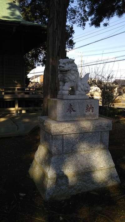 吉田神社の狛犬