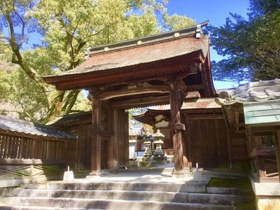 吉香神社の山門
