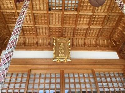 山口県岩国白蛇神社の本殿