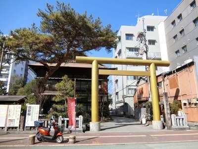 高知県高知大神宮の鳥居