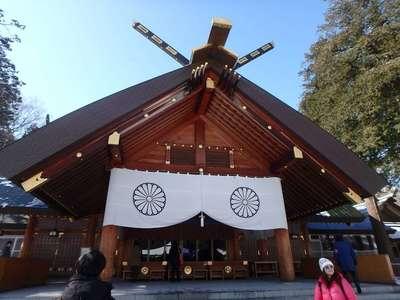 北海道神宮の本殿