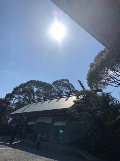 神奈川県伊勢山皇大神宮の本殿