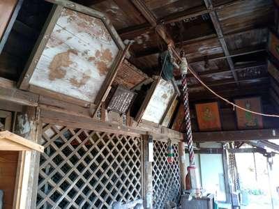 愛知県海嶋山 栖光院の本殿