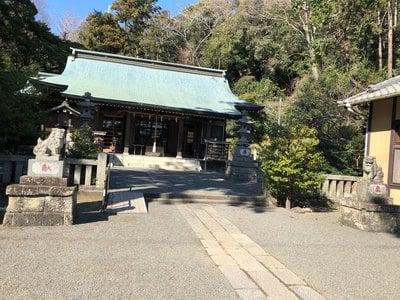 川勾神社の本殿