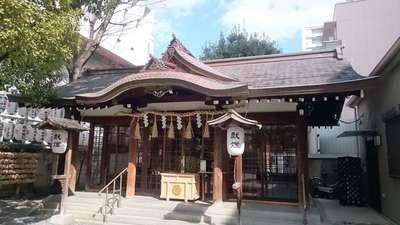 大阪府サムハラ神社の本殿