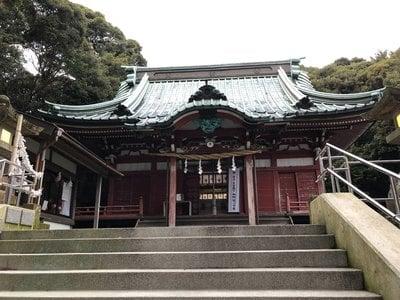 静岡県大頭龍神社の本殿