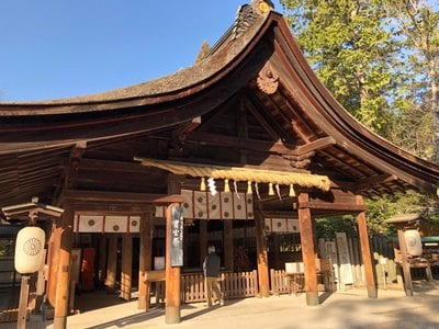 愛知県大縣神社の本殿