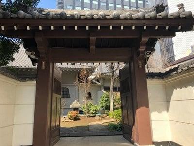 東京都光専寺の山門