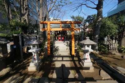 東京都紀文稲荷神社の鳥居