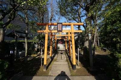 東京都紀文稲荷神社の写真