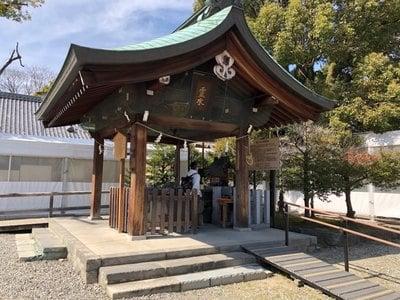 真清田神社(愛知県名鉄一宮駅) - 手水舎の写真
