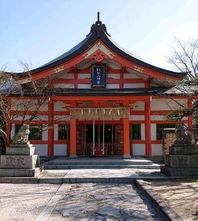 福岡県紅葉八幡宮の本殿