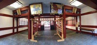 東京都日枝神社の本殿