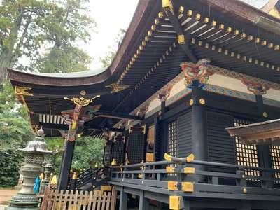千葉県香取神宮の本殿