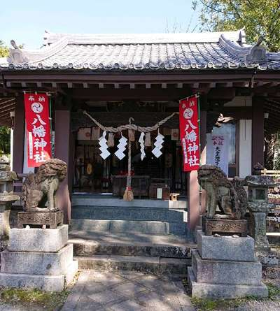 長崎県中川八幡神社の本殿
