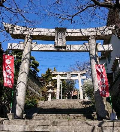長崎県中川八幡神社の鳥居