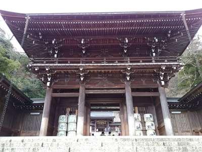 伊奈波神社の山門