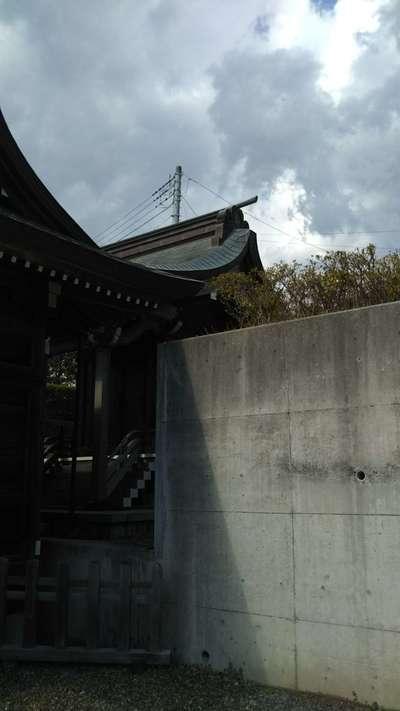 茨城県月光山飛龍権現社の本殿