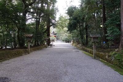 石上神宮の景色