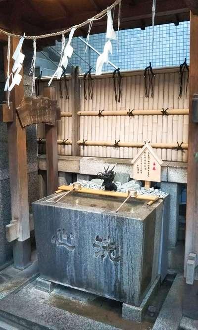 松島神社(東京都水天宮前駅) - 手水舎の写真