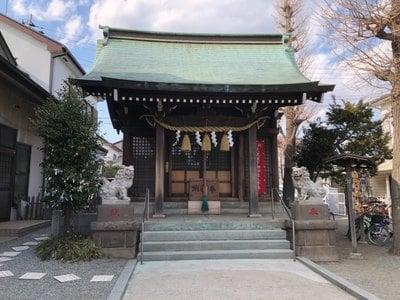 神奈川県東林間神社の本殿