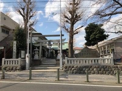 神奈川県東林間神社の写真